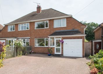 Thumbnail 3 bed semi-detached house for sale in Ufton Close, Shirley, Solihull