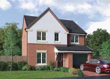 """Thumbnail 4 bed detached house for sale in """"The Hazelwood"""" at Choppington Road, Bedlington"""