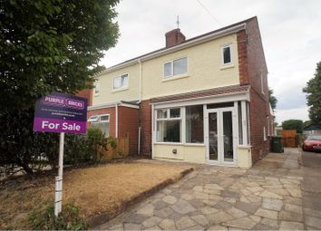 Thumbnail 3 bed semi-detached house for sale in St. Helens Avenue, Lincoln