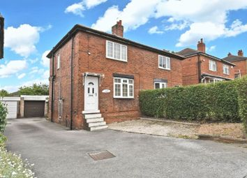 Thumbnail 2 bed semi-detached house for sale in Hollin Lane, Crigglestone, Wakefield