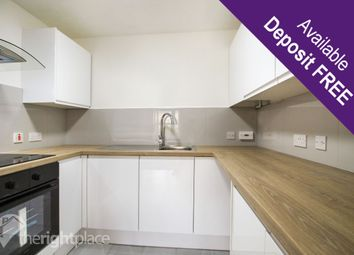 Thumbnail 1 bed flat to rent in Dunton House, North Row, Milton Keynes