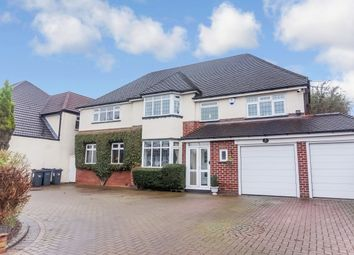 Thumbnail 5 bed detached house for sale in Whitehouse Common Road, Sutton Coldfield, West Midlands