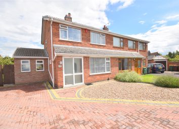 Thumbnail 3 bedroom semi-detached house for sale in Oxburgh Close, Loughborough