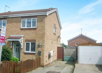 Thumbnail 2 bed semi-detached house for sale in Belfmoor Close, Whitwell, Worksop