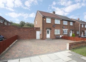 Thumbnail 2 bedroom semi-detached house for sale in Stanton Road, Shiremoor, Newcastle Upon Tyne