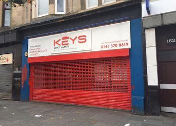 Thumbnail Retail premises to let in 166 Main Street, Rutherglen, Glasgow
