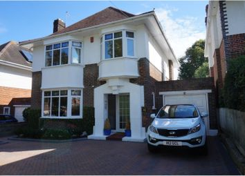 Thumbnail 4 bed detached house for sale in Leeson Road, Bournemouth