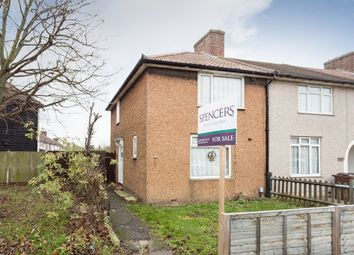 Thumbnail 2 bedroom end terrace house for sale in Hunters Hall Road, Dagenham