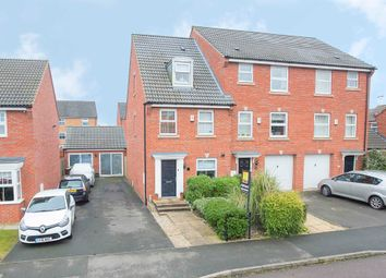 Thumbnail 3 bed end terrace house for sale in Frith Close, Great Oakley, Corby