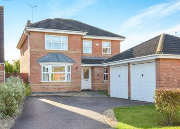 Thumbnail 4 bed detached house for sale in Moorhen Way, Buckingham
