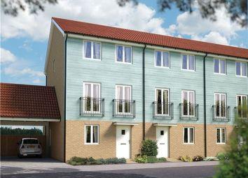 Thumbnail 4 bedroom town house for sale in The Harrogate, Plot 39 Morris Gardens, Fordham Road, Soham