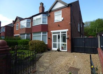Thumbnail 4 bed semi-detached house for sale in Brantingham Road, Whalley Range, Greater Manchester