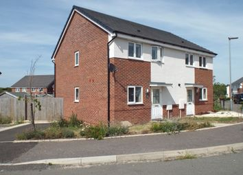 Thumbnail 2 bed semi-detached house for sale in Laxton Crescent, Evesham