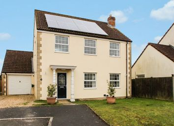 Thumbnail 4 bed detached house for sale in The Orchards, Meare, Glastonbury
