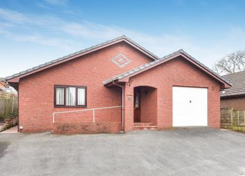 Thumbnail 4 bed detached bungalow for sale in Crabtree Green, Llandrindod Wells