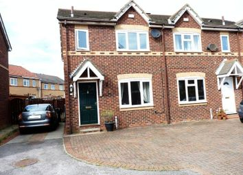 Thumbnail 3 bed semi-detached house for sale in Northumbrian Way, Royal Quays, North Shields