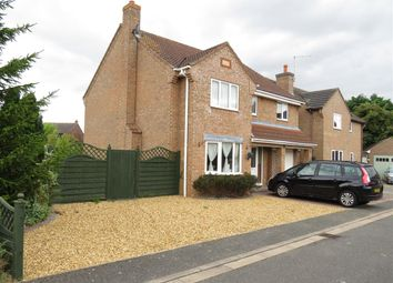 Thumbnail 5 bed detached house for sale in Chapel Gardens, Eastrea, Peterborough