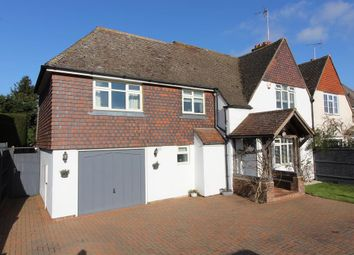 Thumbnail 4 bed semi-detached house for sale in Chulkhurst, Sissinghurst Road, Biddenden, Ashford