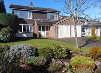 Thumbnail 4 bed detached house to rent in Leandor Drive, Streetly, Sutton Coldfield