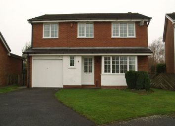Thumbnail 4 bedroom detached house to rent in Whitebeam Close, The Rock, Telford