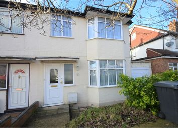 Thumbnail 3 bed semi-detached house for sale in Warwick Avenue, Edgware HA8, Middlesex