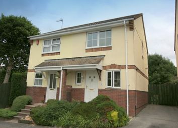 Thumbnail 2 bed semi-detached house for sale in Larch Close, Latchbrook, Saltash