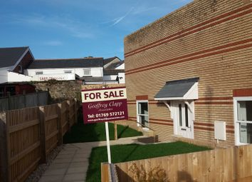 Thumbnail 2 bed terraced bungalow for sale in Alfred Place, North Street, South Molton