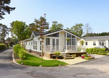 Thumbnail 2 bed mobile/park home for sale in Monterey Close, West Parley, Ferndown