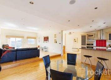Thumbnail 3 bed flat to rent in London Road, Newcastle-Under-Lyme