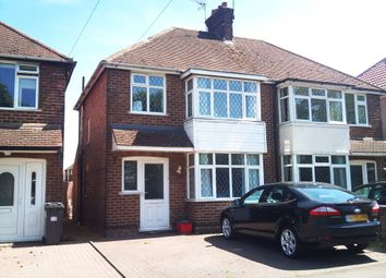 Thumbnail 3 bedroom semi-detached house to rent in Tachbrook Road, Whitnash, Leamington Spa
