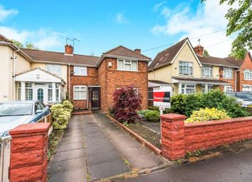 Thumbnail 3 bedroom semi-detached house for sale in Broadway West, Walsall, West Midlands