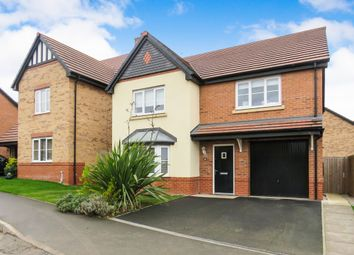 Thumbnail 4 bed detached house for sale in Britannia Road, Cuddington, Northwich