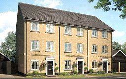 Thumbnail 3 bed terraced house for sale in Miller's Place, Fordham Road, Soham, Cambridgeshire