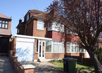 Thumbnail 4 bedroom semi-detached house to rent in Brinkburn Gardens, Edgware, Middlesex, UK