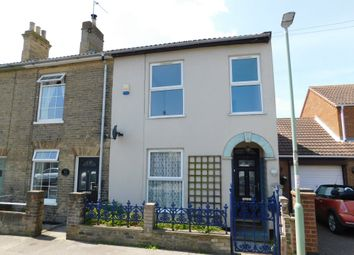 Thumbnail 3 bed end terrace house for sale in Wilson Road, Pakefield, Lowestoft