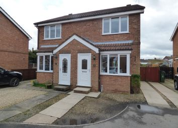 Thumbnail 2 bed semi-detached house for sale in Bramble Garth, Beverley