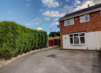 Thumbnail 3 bed semi-detached house for sale in Foxglove, Amington, Tamworth