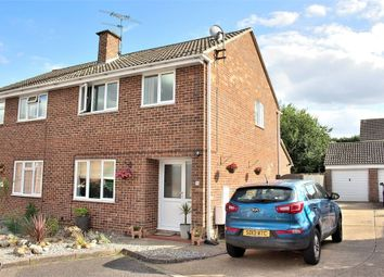 Thumbnail 3 bed semi-detached house for sale in Barnston, Great Dunmow, Essex