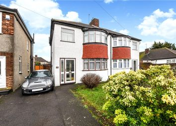 Thumbnail 3 bed semi-detached house for sale in Harvey Road, Whitton, Middlesex