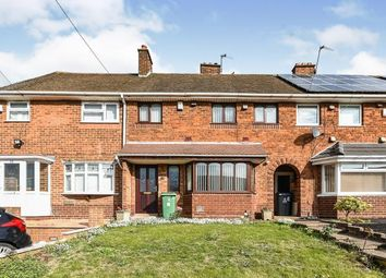 Thumbnail 3 bed terraced house for sale in Brockhurst Crescent, Walsall