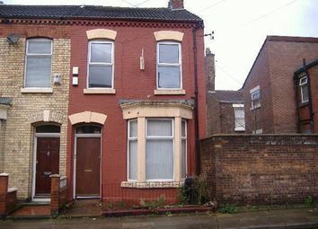 Thumbnail 1 bed flat to rent in Coningsby Road Fla, Anfield, Liverpool