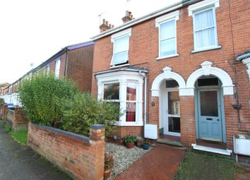 Thumbnail 3 bed terraced house for sale in Oxford Road, Ipswich