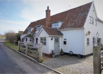 Thumbnail 2 bed semi-detached house for sale in Church Road, Little Glemham, Woodbridge