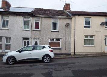 Thumbnail 3 bed terraced house for sale in Francis Street, Fleur De Lis, Blackwood, Caerphilly.