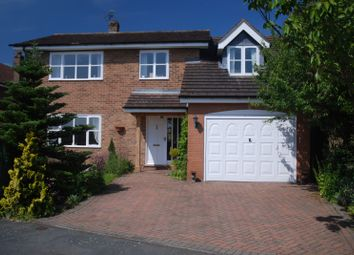 Thumbnail 5 bed detached house for sale in The Grange, Packington