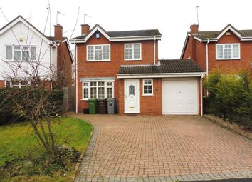 Thumbnail 4 bed detached house to rent in Stanbrook Road, Shirley, Solihull