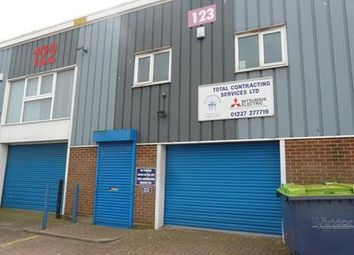 Thumbnail Serviced office to let in Ground Floor, Unit 123, John Wilson Business Park, Harvey Drive, Whitstable, Kent