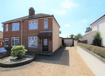 Thumbnail 2 bed semi-detached house for sale in Woodland Road, Hellesdon, Norwich