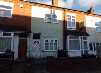 Thumbnail 3 bedroom terraced house for sale in Milner Road, Selly Park, Birmingham, West Midlands