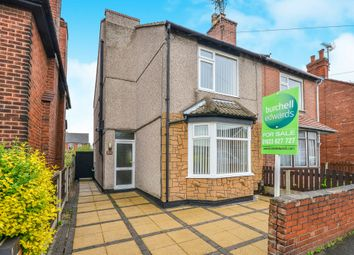 Thumbnail 2 bedroom semi-detached house for sale in Morven Avenue, Mansfield Woodhouse, Mansfield
